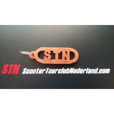 STN Houten Sleutelhanger