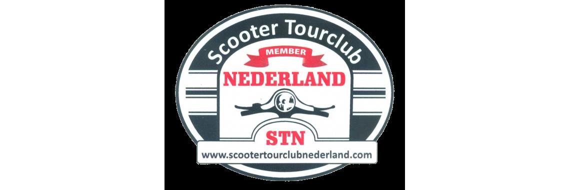 STN Sticker Classic Ovaal Middel
