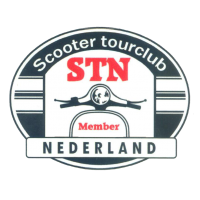 STN Sticker Classic Ovaal Klein