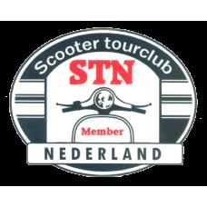 STN Sticker Classic Ovaal Groot