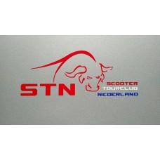 STN Logo Buffelsticker